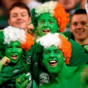 irish fans euro 2016