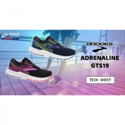 buy online c9b39 a728e Brooks Adrenaline GTS19 – Tech Sheet