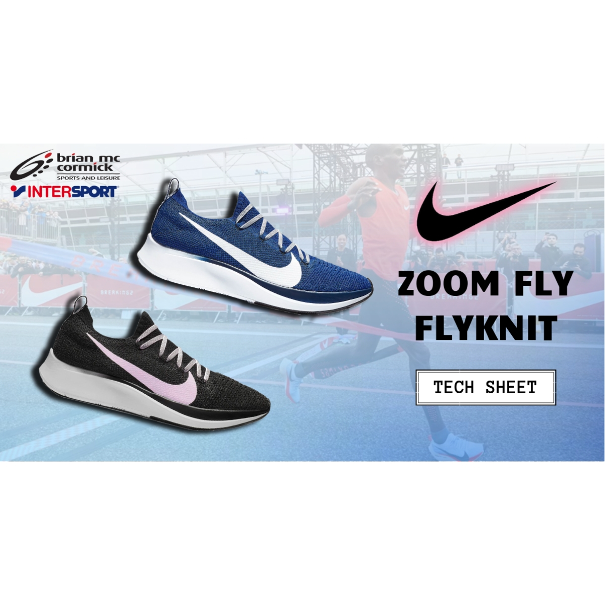 f76bda57452 Nike Zoom Fly Flyknit - Tech Sheet - BMC SportsBMC Sports