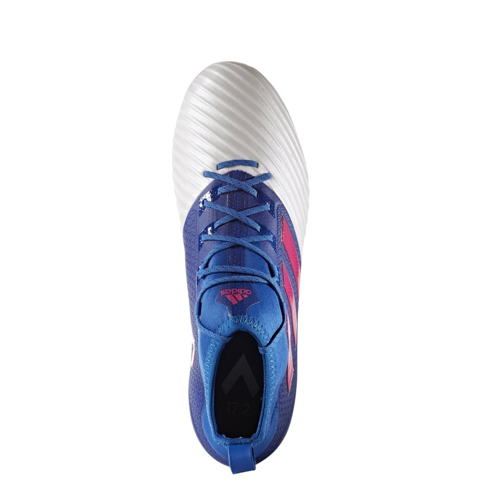 low priced d365f b1a1f ACE 17.2 Primemesh Firm Ground Boots Blue