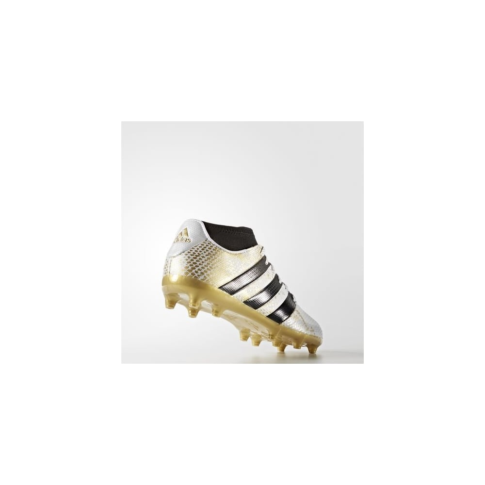 ACE 16.3 Primemesh Firm Ground Boots White Gold 252aaa8cd5d3