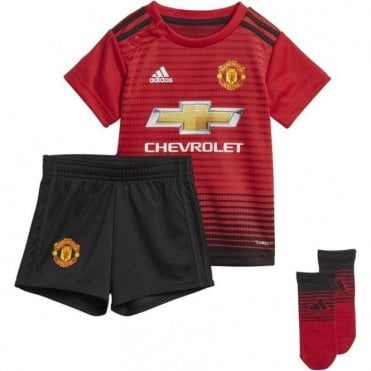Baby Man United Home Mini Kit 18/19