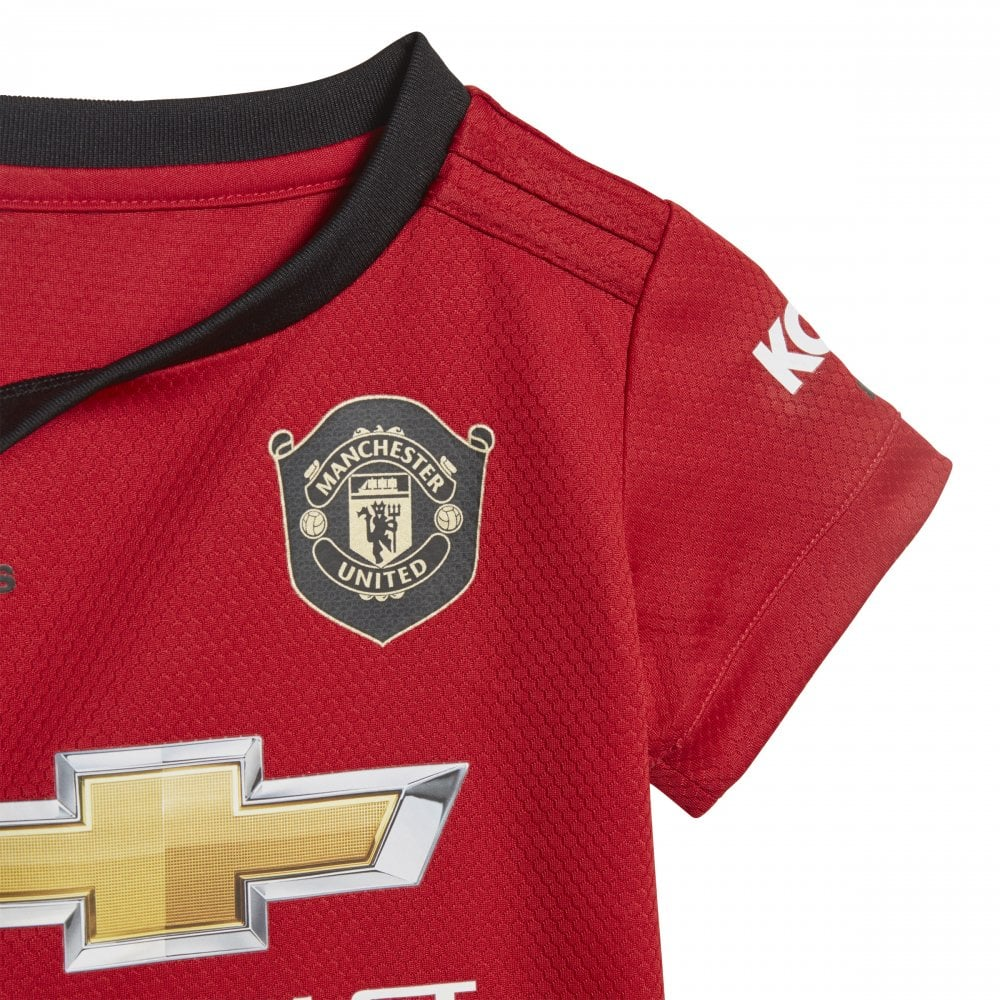 huge discount 00a67 aac9c Baby Man United Home Mini Kit 19/20