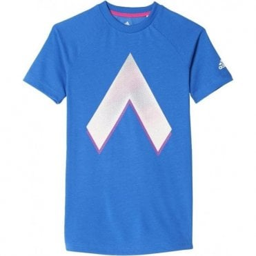 Boys ACE Graphic Tee Blue