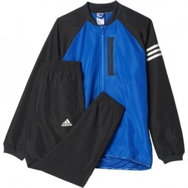 Boys Messi Tracksuit Blue
