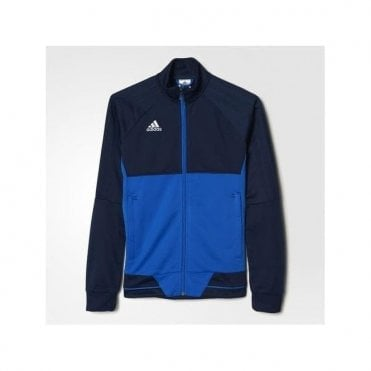 Boys Tiro 17 Training Jacket Blue/Navy