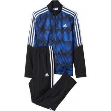 Boy's Tiro Track Suit Blue