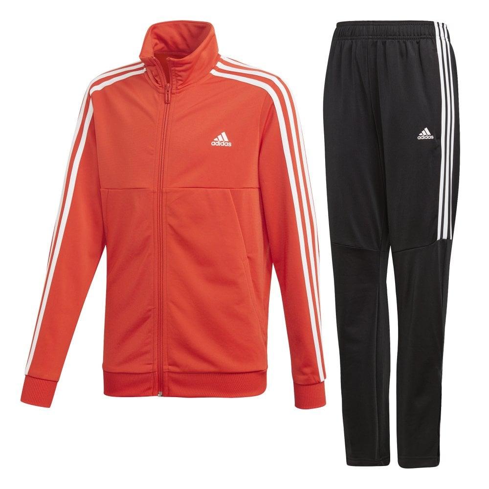 be06d8f5b adidas Boys Tiro Tracksuit Red   BMC Sports