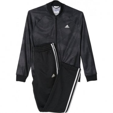 Boy's Training Track Suit Black
