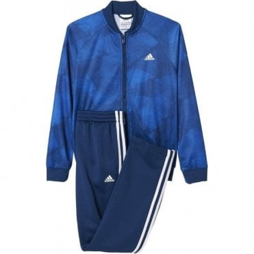 Boy's Training Track Suit Blue