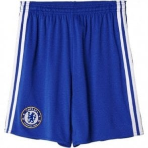 CHELSEA FC HOME REPLICA JNR SHORTS