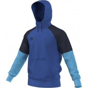 CONDIVO 16 HOODY BLUE/COLLEGIATE NAVY/BRIGHT CYAN