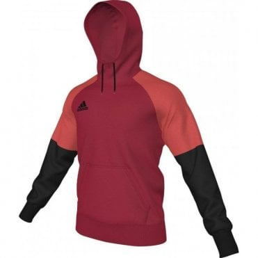CONDIVO 16 HOODY SCARLET/BLACK/BRIGHT RED