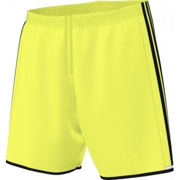CONDIVO 16 SHORTS SOLAR YELLOW/BLACK/WHITE