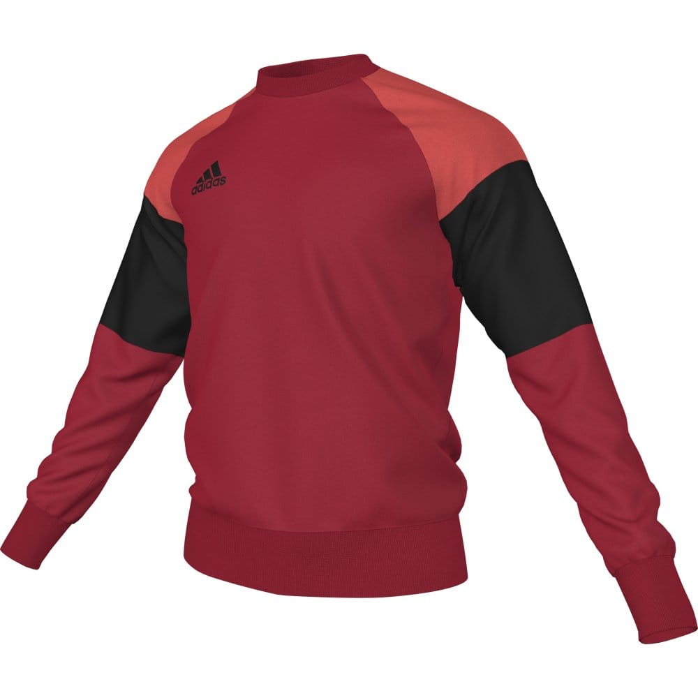 brand new 5a39b 63612 CONDIVO 16 SWEAT TOP SCARLET BLACK BRIGHT RED