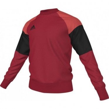 CONDIVO 16 SWEAT TOP SCARLET/BLACK/BRIGHT RED
