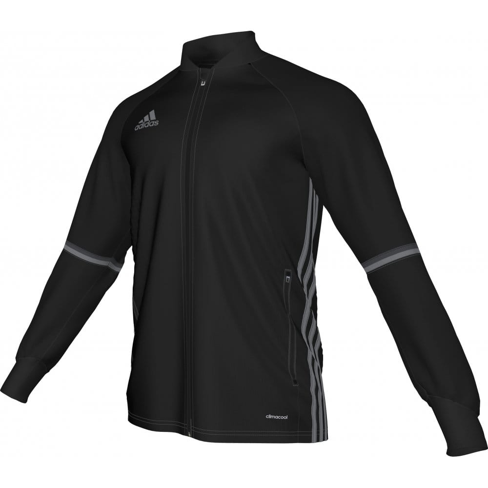 c5b2030bf CONDIVO 16 TRAINING JACKET BLACK/VISTA GREY