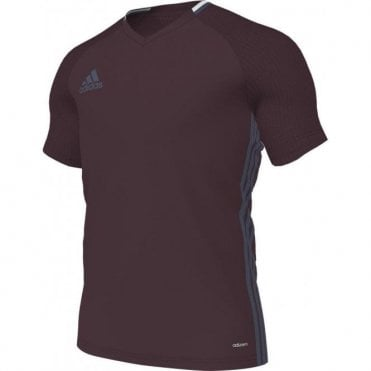CONDIVO 16 TRAINING JERSEY MAROON/MINERAL BLUE