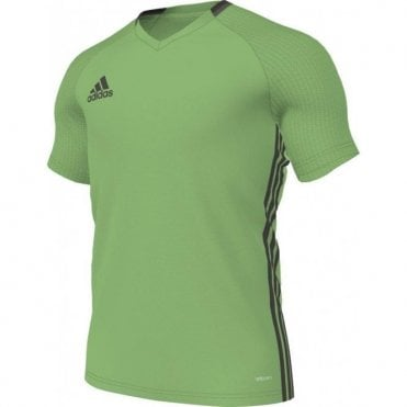 CONDIVO 16 TRAINING JERSEY SEMI SOLAR LIME/NIGHT BROWN