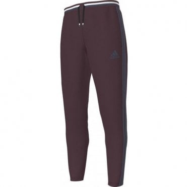 CONDIVO 16 TRAINING PANT MAROON/MINERAL BLUE