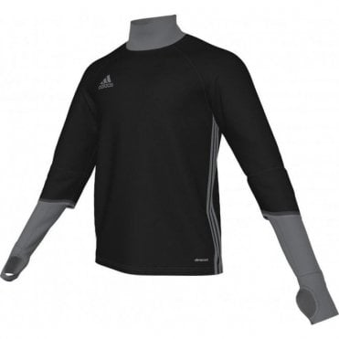CONDIVO 16 TRAINING TOP BLACK/VISTA GREY