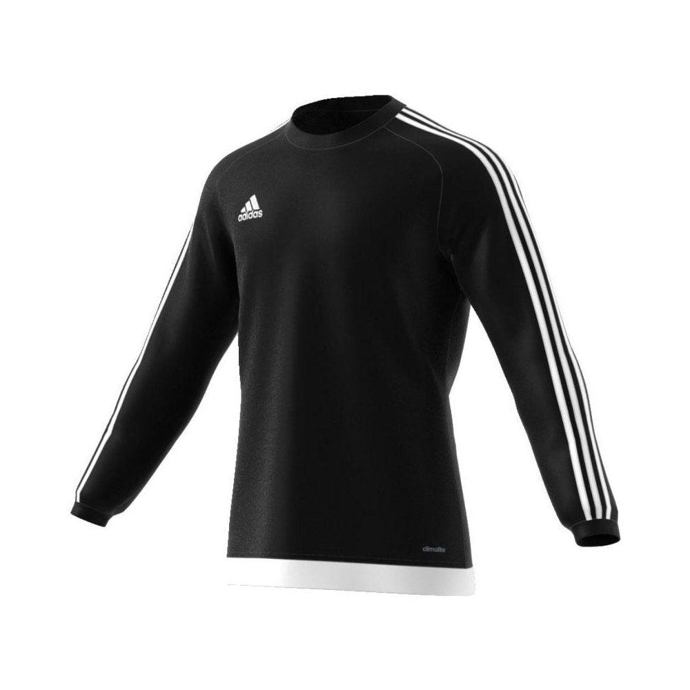 Adidas Estro 15 LS Jersey Black (Set of 18) Size Large