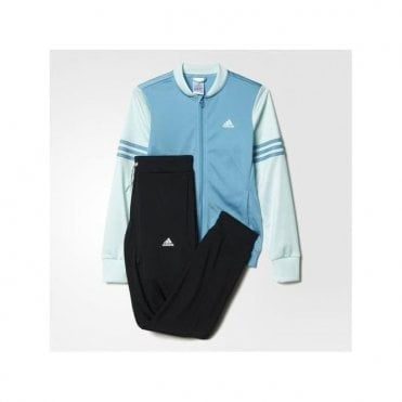 Girl's Bomber Jacket Track Suit Blue