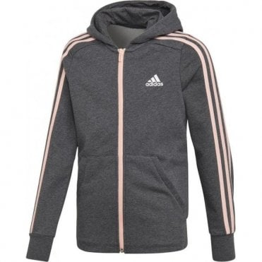 Girls Essentials 3 Stripe Hoodie