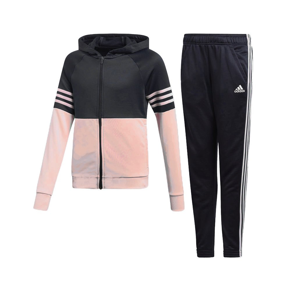65a44941bc64 adidas Girls Hooded Pes Tracksuit | BMC Sports