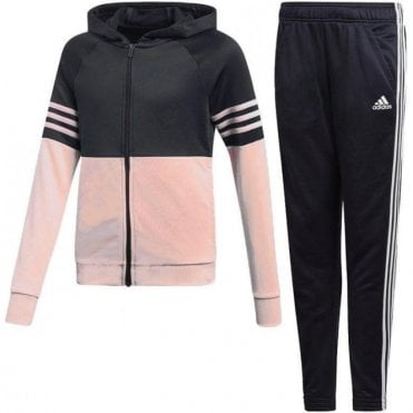 Girls Hooded Pes Tracksuit