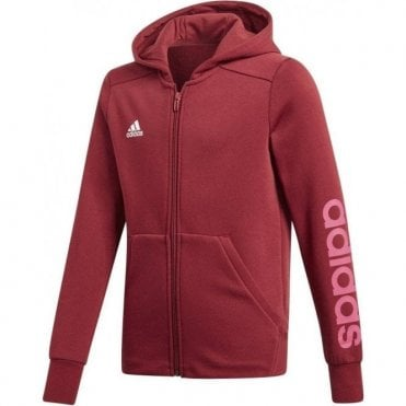 Girls Linear Full Zip Hoodie