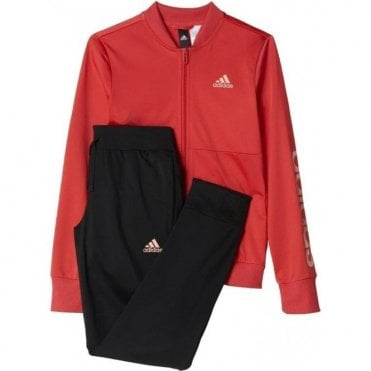 Girls Polyester Tracksuit
