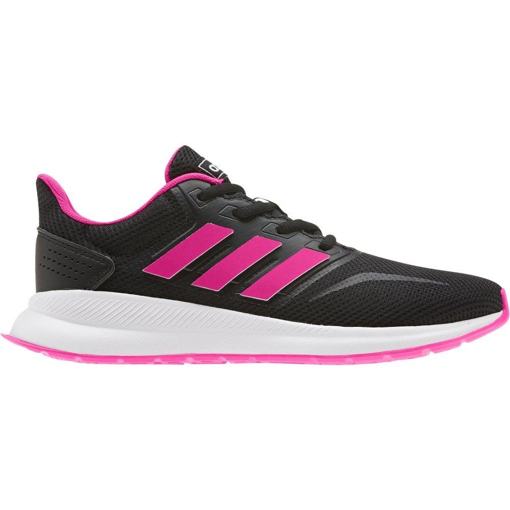 adidas Girls Runfalcon Black/Pink | BMC