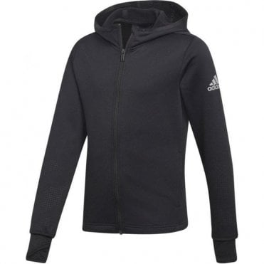 Girls Training Full Zip Hoodie Black
