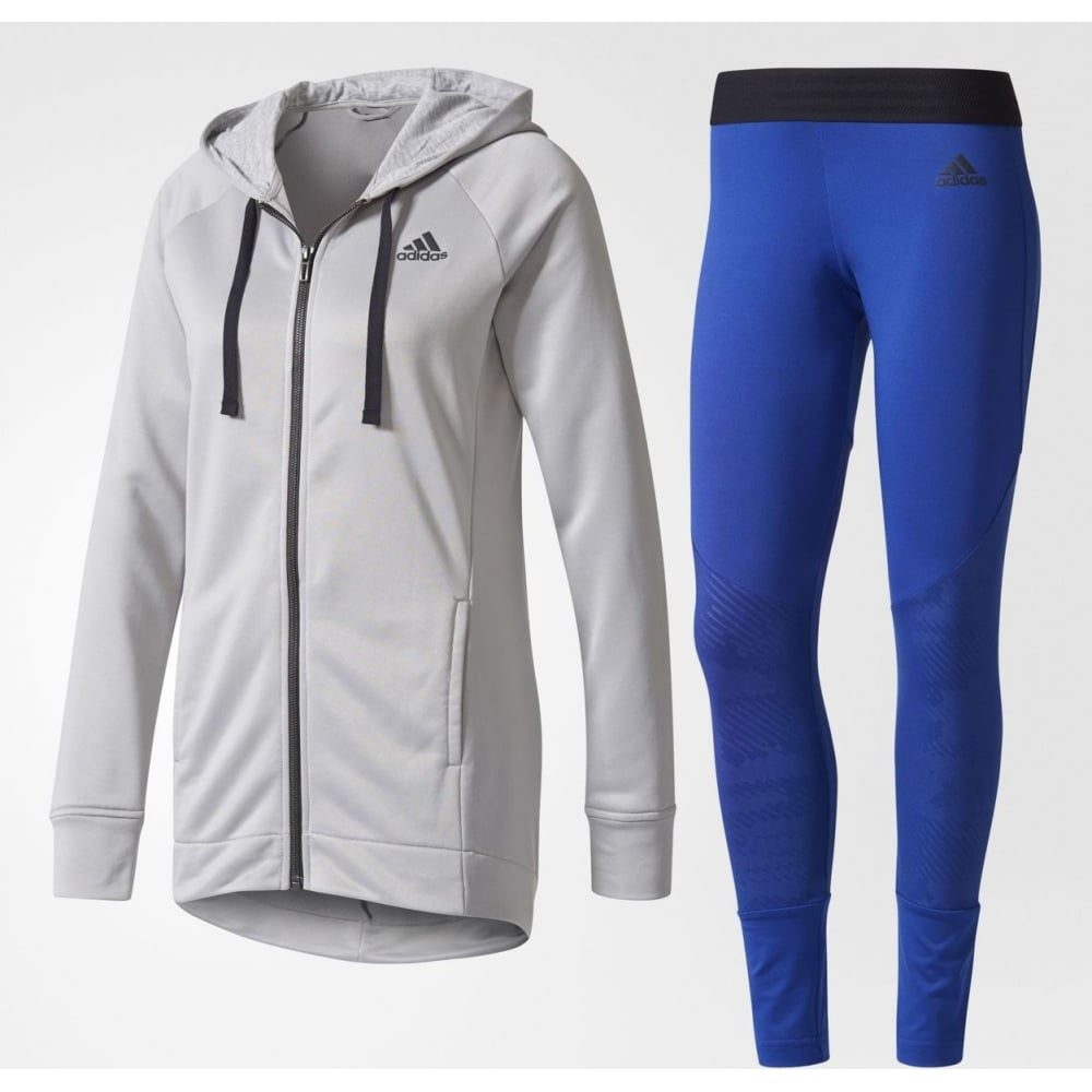 Adidas Hoodie and Tights | Womens Track Suit