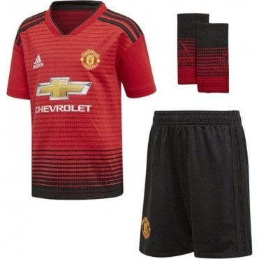 Infant Man United Home Mini Kit 18/19