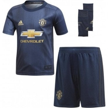 Infant's Manchester United 3rd Mini Kit 18/19