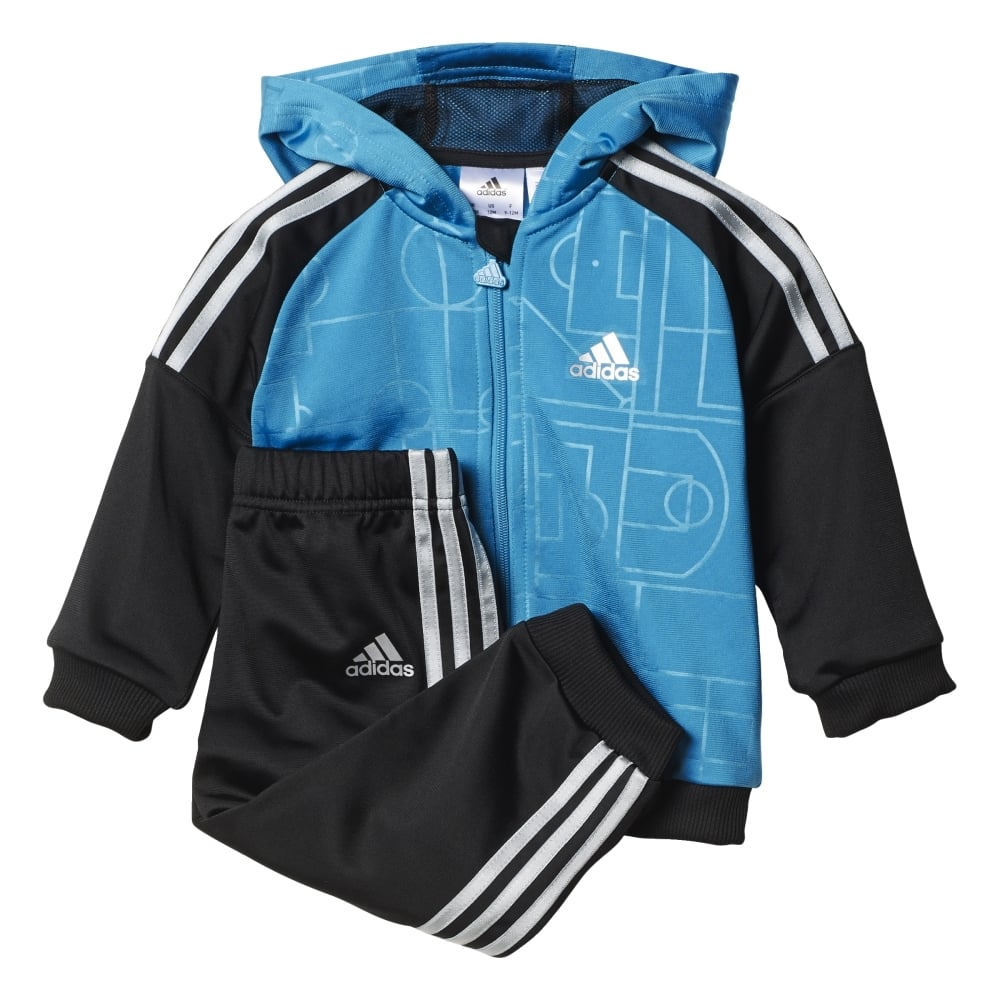ADIDAS INFANTS STYLE SHINY JOGGER SET 6156f0370d
