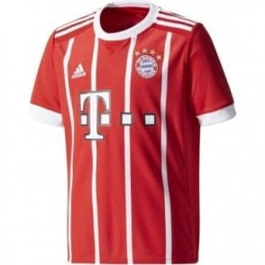Kids 17/18 Bayern Muenchen Home Jersey