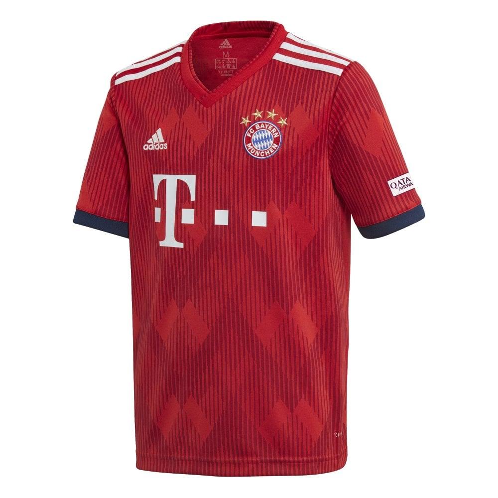 40cbc4bd adidas Kids Bayern Munich Home Jersey 18/19   BMC Sports