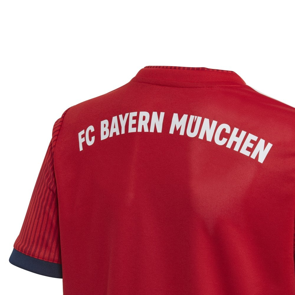 buy popular e735f 2ed85 Kids Bayern Munich Home Jersey 18/19