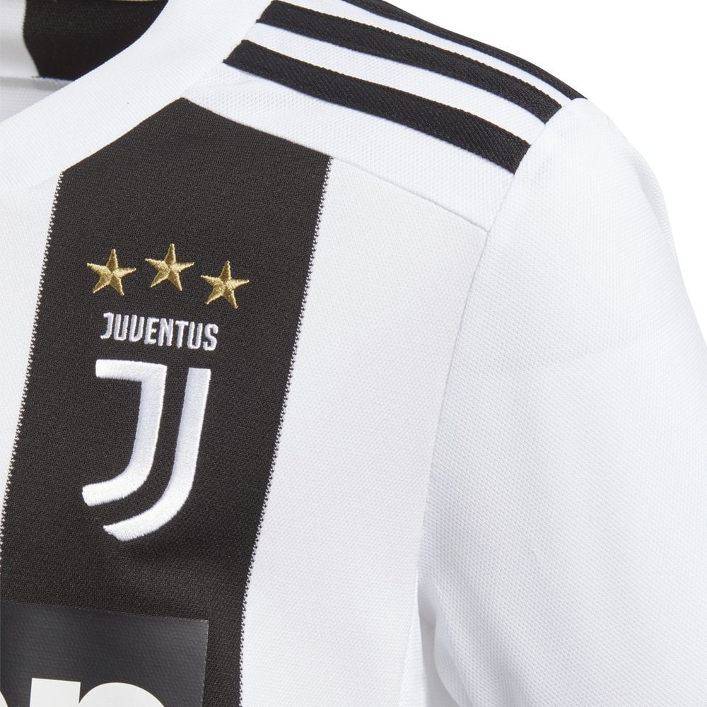 wholesale dealer fc8ab 2dcab Adidas Kids Juventus Home Jersey 18/19