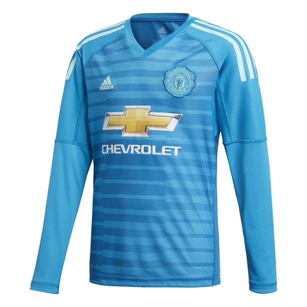 13c7f8518 adidas Kids Man United Away GK Jersey 18 19