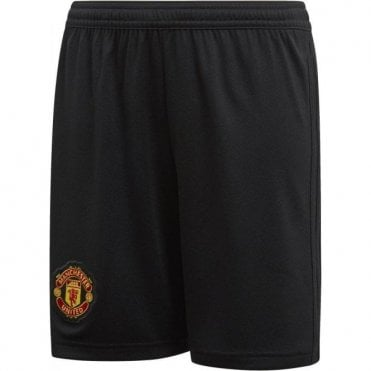 Kids Man United Home Shorts 18/19
