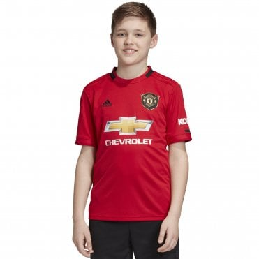 714210783 Kids Man United Home SS Jersey 19 20