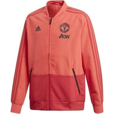 Kids Man United Presentation Jacket