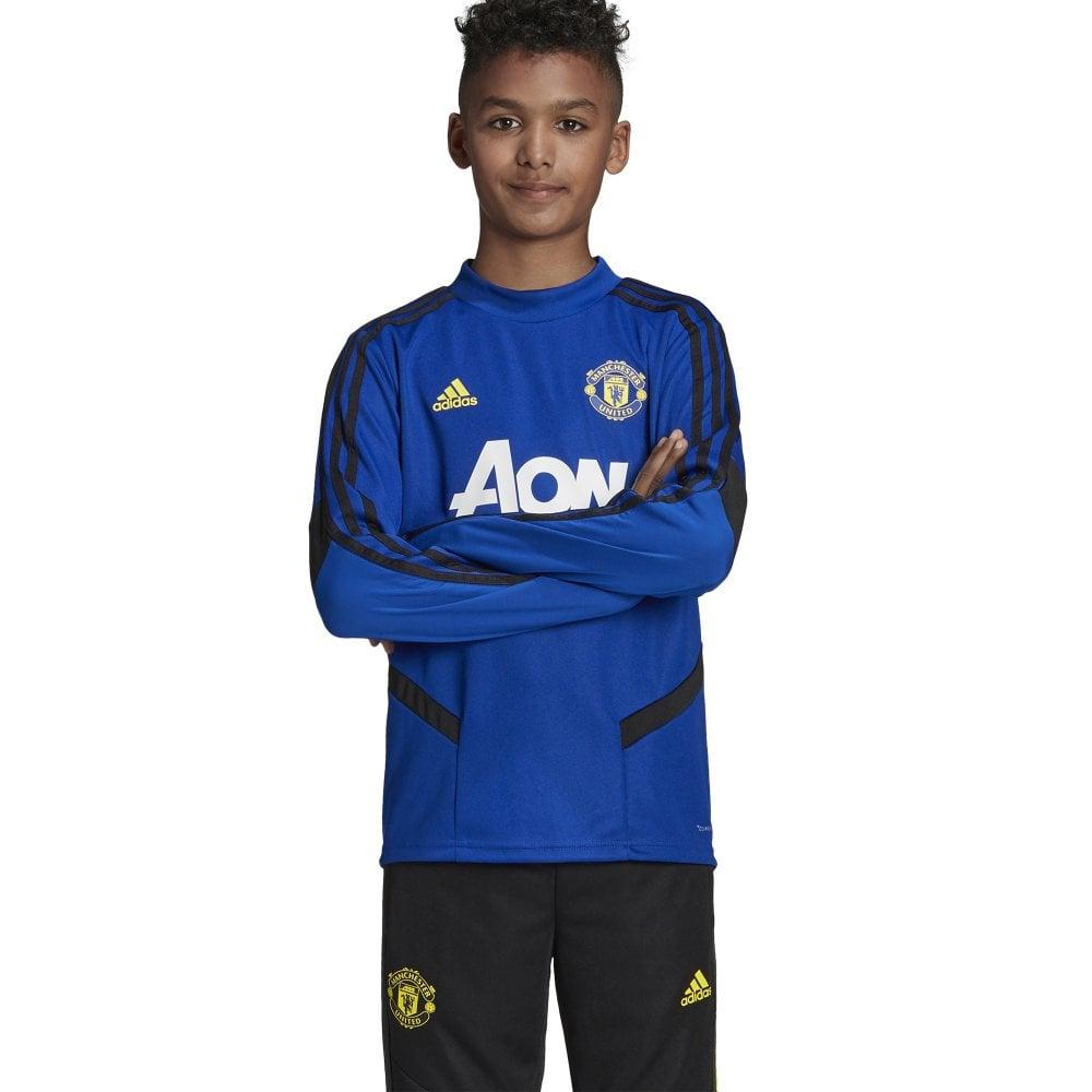 49c8adcd9 Kids Man United Training Top Blue