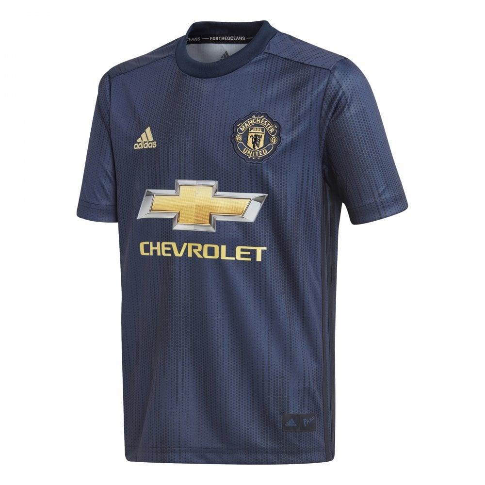 4218c8453 adidas Kids Manchester United 3rd Jersey 18/19 | BMC Sports