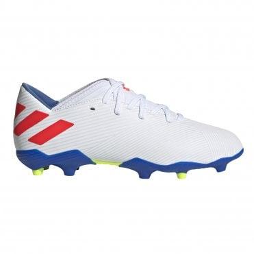 6638c1e1437 Kids Nemeziz Messi 19.3 FG White