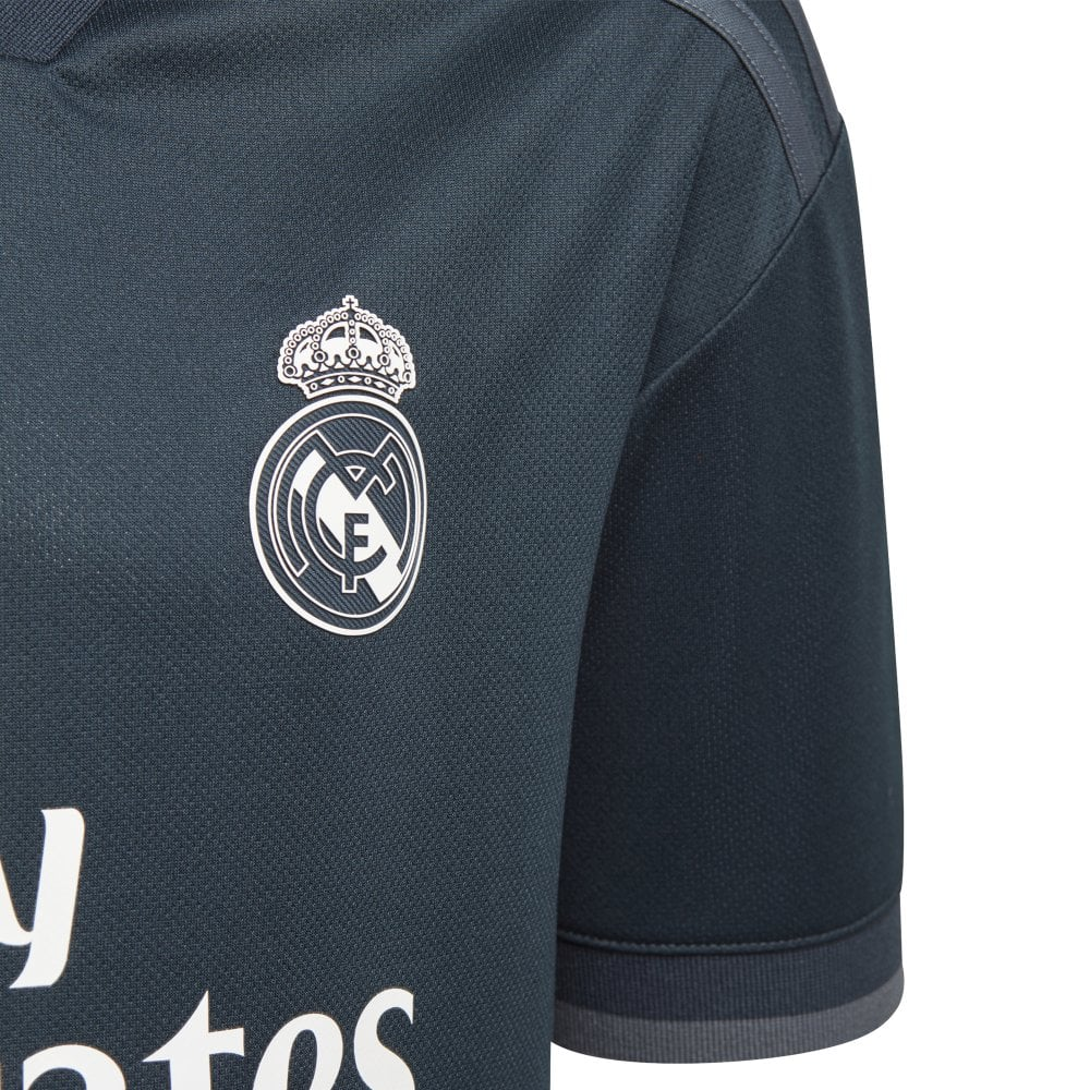 a353ee7e2afdf adidas Kid's Real Madrid Away Jersey 18/19 | BMC Sports